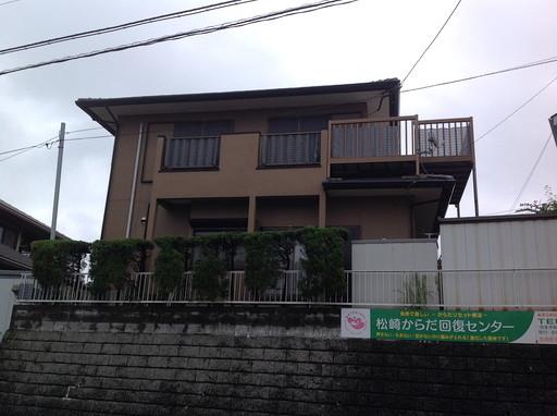 外壁塗装 重厚感のある建物に /宇美町