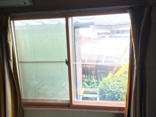 2重サッシの内窓 高断熱効果 /須恵町