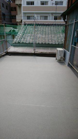 古い外床をきれいに!! 滑り止めの防滑シート /福岡市