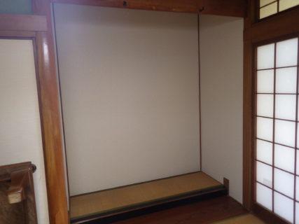 家の中の壁を修理 /篠栗町